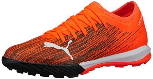 PUMA Ultra 3.1 TT, Chaussure de Football Homme, Shocking Orange Black, 40.5 EU