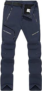 comprar comparacion Hombre Mujer Elasticidad Exterior Impermeable Softshell Camping Senderismo Pantalones