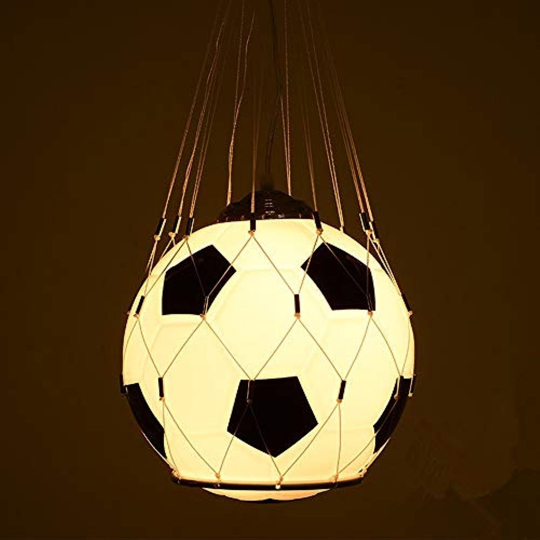 Kinderzimmer fuball kronleuchter Kreative persnlichkeit Junge mdchen cartoon lampe Schlafzimmer kind pendelleuchte