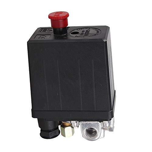 Mdurian Solide 90-120PSI Druckschalter der Luftkompressor Pumpe Kompressor Druckwächter Regelventil Kompressorschalter Hochleistungs Druckregler 240V