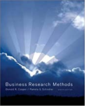 Business Research Methods: 9th (nineth) Edition