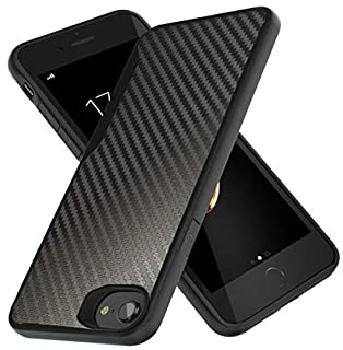 Kitoo Designed for iPhone 7 Case/Designed for iPhone SE 2020 Case, Carbon Fiber Pattern, 10ft. Drop Tested, Wireless Charging - Black (B07RSKR3RT) | Amazon price tracker / tracking, Amazon price history charts, Amazon price watches, Amazon price drop alerts