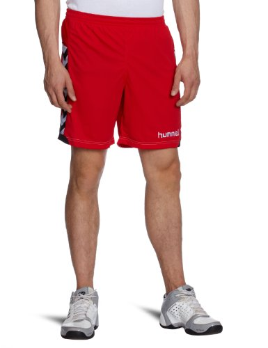 hummel Poly - Pantalones para Hombre, tamaño S, Color Rojo