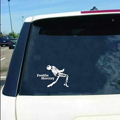 A Auto Aufkleber 15,5 Cm x 10,8 Cm Freddie Mercury Aufkleber Königin Musik Rock Auto Aufkleber Kunst Dekor Für Auto Laptop Fenster Aufkleber