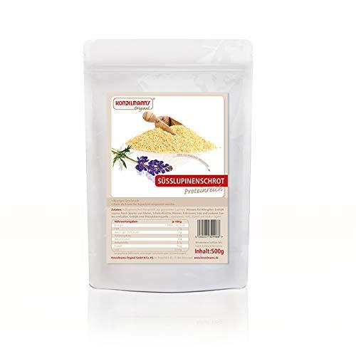 Konzelmann's Original - Süßlupinenschrot - Süßlupine - 500 g