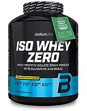BioTechUSA Iso Whey ZERO, Premium quality sugar-free, lactose-free and gluten-free whey protein isolate with Native Whey Isolate basic ingredient, 2.27 kg, Pineapple-Mango