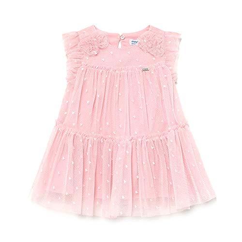 Mayoral Vestido Tul Bebe Niña Rosado 6-36 Meses (18 Meses)