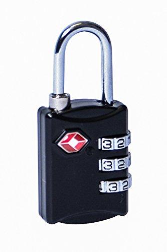 Mountain Warehouse TSA Padlock de la combinación - Cerradura Durable del Armario,...