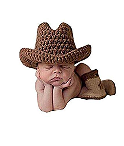 Knitted Infant Cowboy Boots