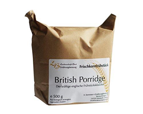 British Porridge - Leidenschaft-Brot Frischkornfrühstück