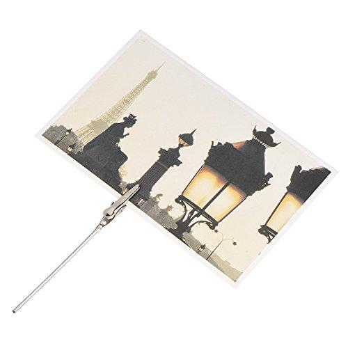 Memo Clip - Supporto in metallo con clip per foto, per matrimoni, compleanni, 50 pezzi