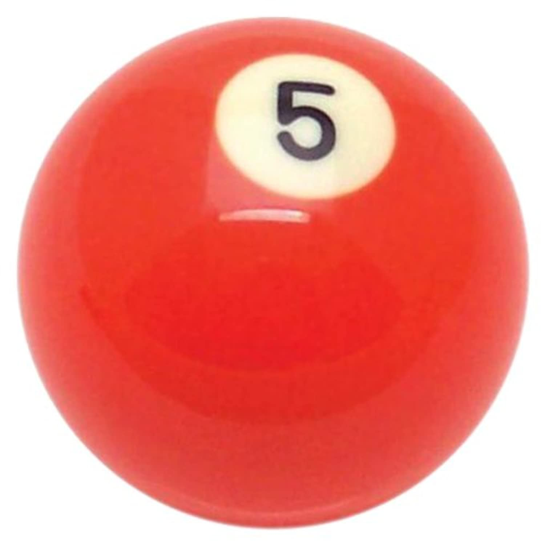 アメリカンシフター96050ソリッドオレンジ5ボールビリヤードプールシフトノブ