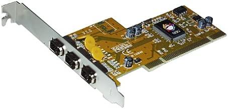3port 1394 Firewire Pci I/ocard (via Chip)