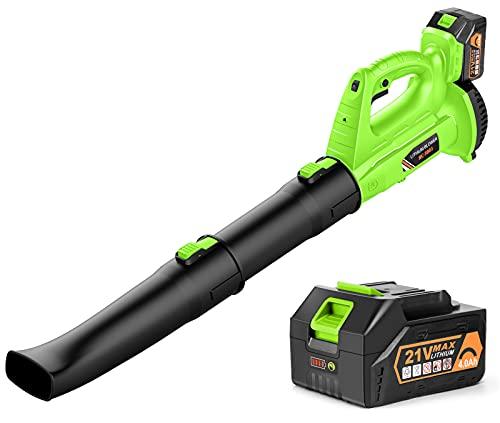 Cordless Leaf Blower - BHY 21V Electric Leaf...