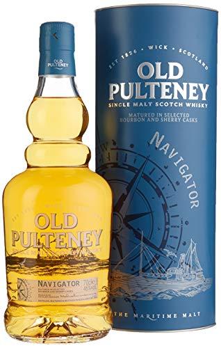 Old Pulteney Navigator Limited Edition mit Geschenkverpackung  Whisky (1 x 0.7 l)