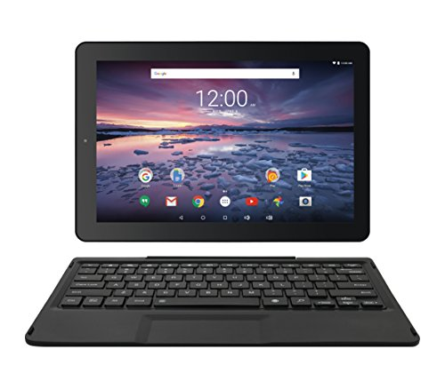 Pro12 with WiFi 12.2' 2-in-1 Touchscreen Tablet PC Featuring Android 6.0 (Marshmallow) Operating System, Black