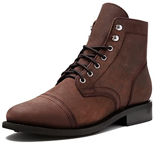 Thursday Boot Company Women's Captain Cap Toe Ankle Boots, Arizona Adobe, 8