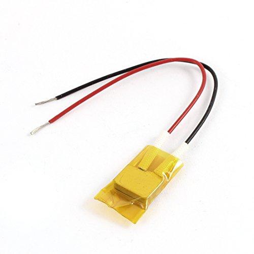 Aexit Placa de calentamiento del termostato del calentador de aluminio PTC 220V 3-8W (model: O5505XIII-9787PT) 150 grados Celsius