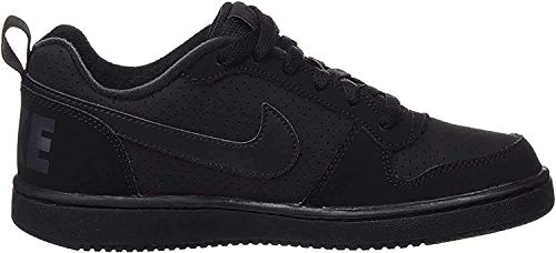 Nike Unisex Court Borough Low Basketballschuhe, Schwarz Black Black Black, 38 EU