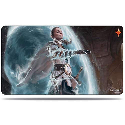 MTG Throne of Eldraine V7 Worthy Knight Ultra Pro Printed Art Magic The Gathering Card Game Playmat