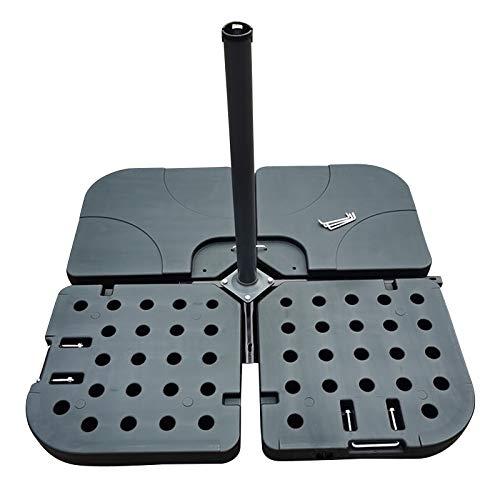 Wangkangyi Bases para sombrilla al aire libre para jardín, patio, soporte para sombrilla de jardín, bases de sombrilla (cuarto)