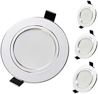 10 Pcs/Lot LED Downlight Lamp 3W 5W 7W 9W 12W 15W 18W 230V 110V Ceiling Recessed Downlights Round Led Panel Light Warm White 9W 110V