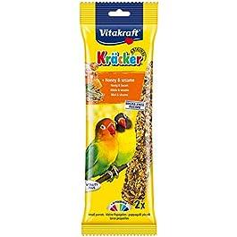 Vitakraft Kracker Love Birds Bird Food Honey-Sesame, Pack of 5