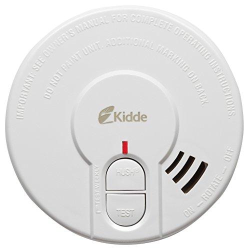 Kidde KS29HD-UKB Optischer Rauchmelder, 9V, batteriebetrieben, mit Stummschaltung und Testfunktion