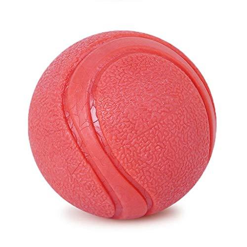 Liutao hondenspeelgoed voor kleine honden, rubber, Molar-tanden, bittrekken, stabiel, Bite elastisch, Pet Toy Ball, 6.3cm
