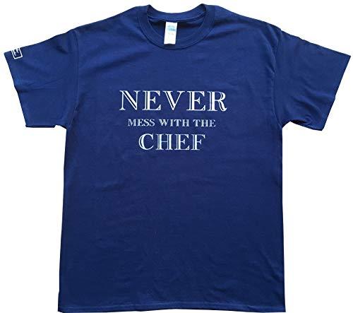 Espectacular camiseta con logo vernáculo, Never Mess with