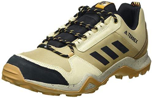 adidas Terrex AX3 Blue, Zapatillas de Hiking Hombre, OROLEG/NEGBÁS/Dorsol, 42 2/3 EU