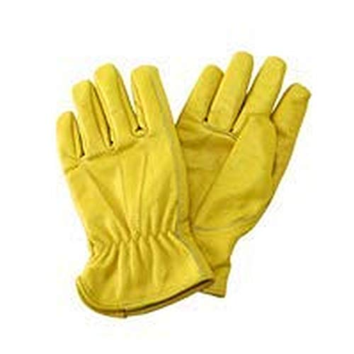 ladies small leather gardening gloves