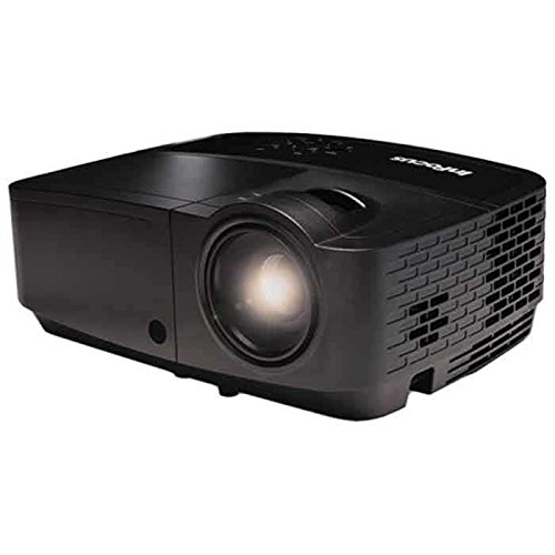 InFocus Corporation IN112a SVGA DLP Projector, HDMI, 3200 Lumens, 15000:1 Contrast Ratio, 3D