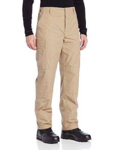 Tru-Spec - Pantaloni da Uomo Rip Stop BDU, Uomo, 3300, Cachi, XL