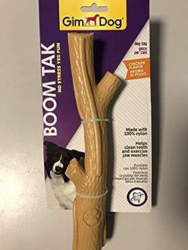 Die innovativen Boom Tak Spielzeuge sind aus 100 % Nylon hergestellt und wurden speziell entwickelt, um den natürlichen Kautrieb des Hundes zu erfüllen Das leckere Aroma zieht Aufmerksamkeit auf sich, während die ultra-starke Nylon-Konstruktion angen...