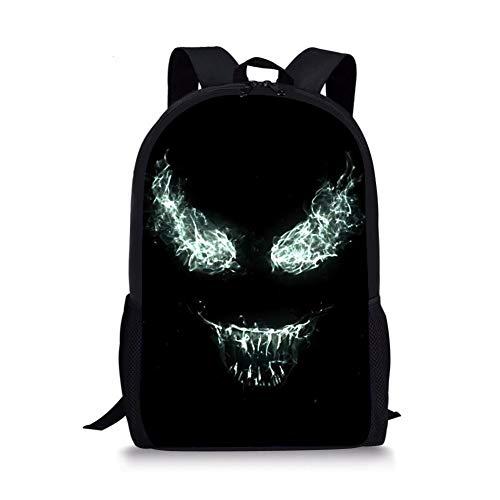 Coole Comics Venom Rucksäcke Schultaschen Schultaschen Für Mädchen Jungen Orthopädische Packbag Book Bag 2018 A