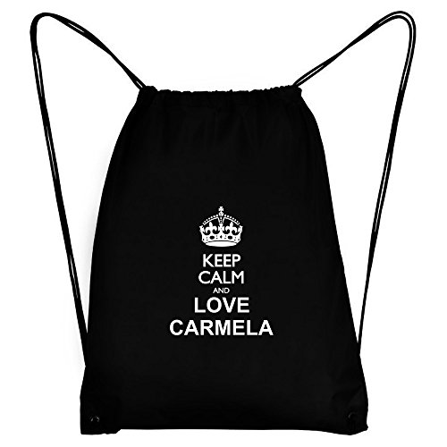 Teeburon Keep Calm and Love Carmela Bolsa Deportiva