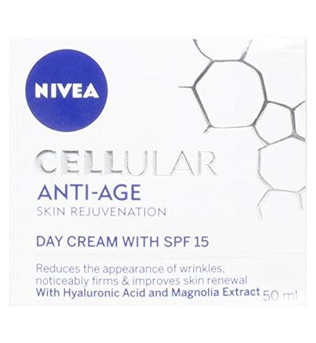 Nivea Cellulaire Crème De Jour Anti-Âge Spf 15 50Ml Avec