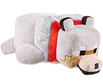 Mattel Minecraft Plush 12-in Long Character Dolls Soft Squishy Floppy Collectible Gift for Fans Age 3 Years and Older