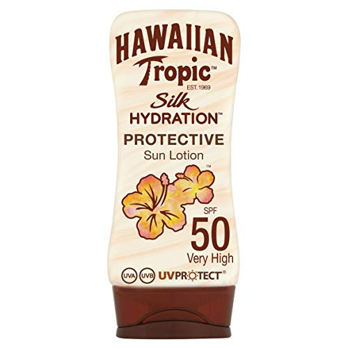 Hawaiian Tropic - Lotion Solaire Hydratante - Silk...