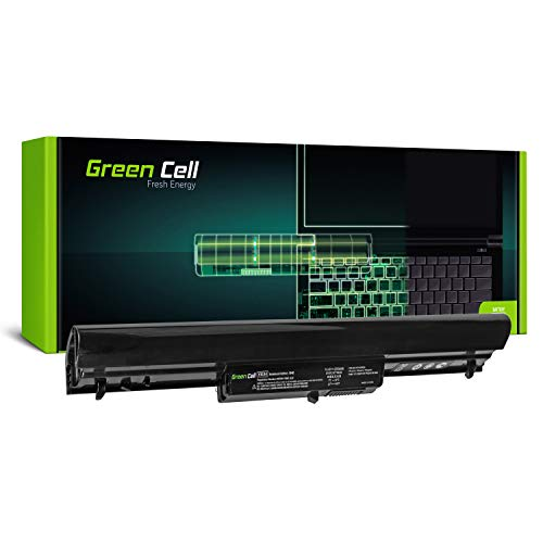 Green Cell® Standard Serie VK04 HSTNN-YB4D 695192-001 694864-851 Batería para HP Pavilion 14-B 14-C 15-B/HP 242 G1 G2 Ordenador (4 Celdas 2200mAh 14.4V Negro)