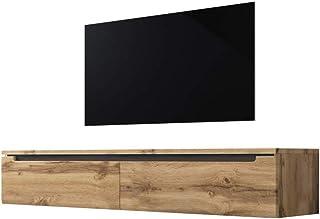 30.0 x 33.0 x 140.0 cm Selsey Mobile per TV Marrone chiaro