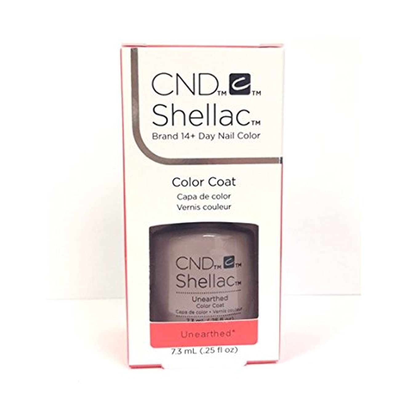 トラクタープライム炭水化物CND Shellac - The Nude Collection 2017 - Unearthed - 7.3 mL / 0.25 oz