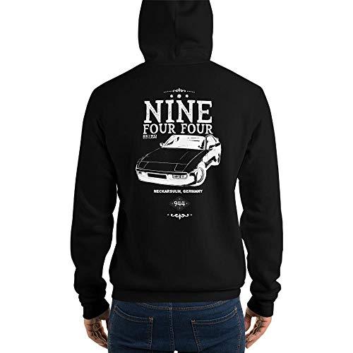 Retro Outlaws Porsche 944 Hoodie, Porsche 944 Sweatshirt, 944 Hoodie, Youngtimer Car Sweatshirt, 944 Sweatshirt, 944 Geschenk, 944 Geburtstag, Schwarz - Klein