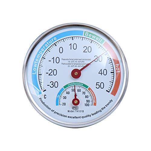 MayGreeny Termometro analogico igrometro ad alta precisione puntatore igrotermografo per interni ed esterni