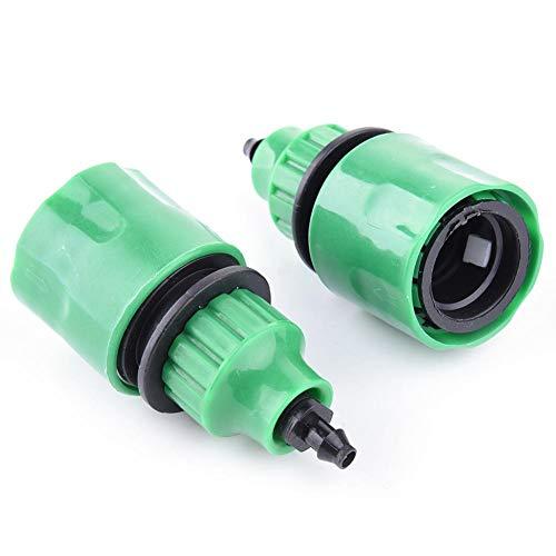 Funihut tuinkraan, voor het verbinden van kraan en tuinslang, adapter geschikt voor 4/7 mm, diameter 8/11 mm