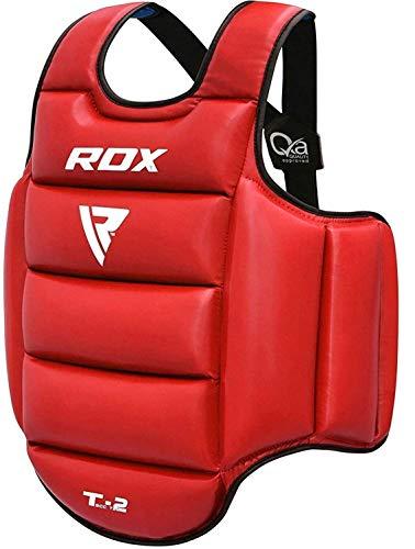RDX Protector de Pecho TKD Protección De Cuerpo MMA Boxeo