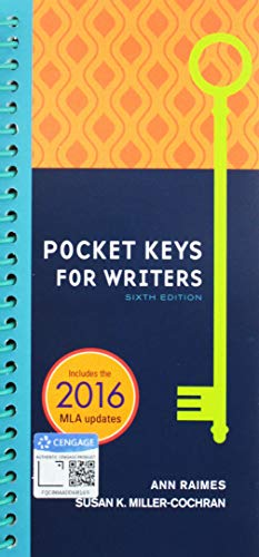 Bundle: Pocket Keys for Writers, 6th + MindTap English, 1 term (6 months) Printed Access Card