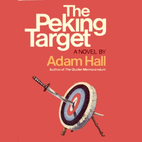 The Peking Target audiobook cover art