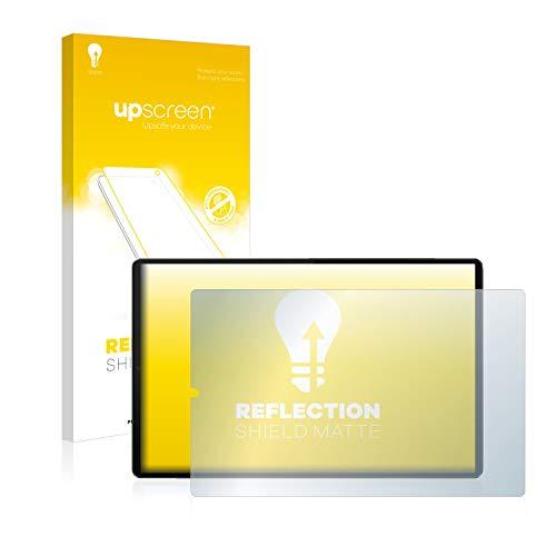 upscreen Entspiegelungs-Schutzfolie kompatibel mit Lenovo Tab M10 FHD Plus (im Querformat) – Anti-Reflex Bildschirmschutz-Folie Matt